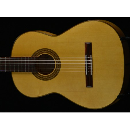 Francisco Navarro Student Flaminco Left Handed Guitar.