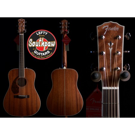Fender Paramount Solid Top Acoustic
