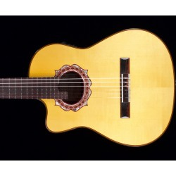 NAVARRO Solid Wood Requinto...